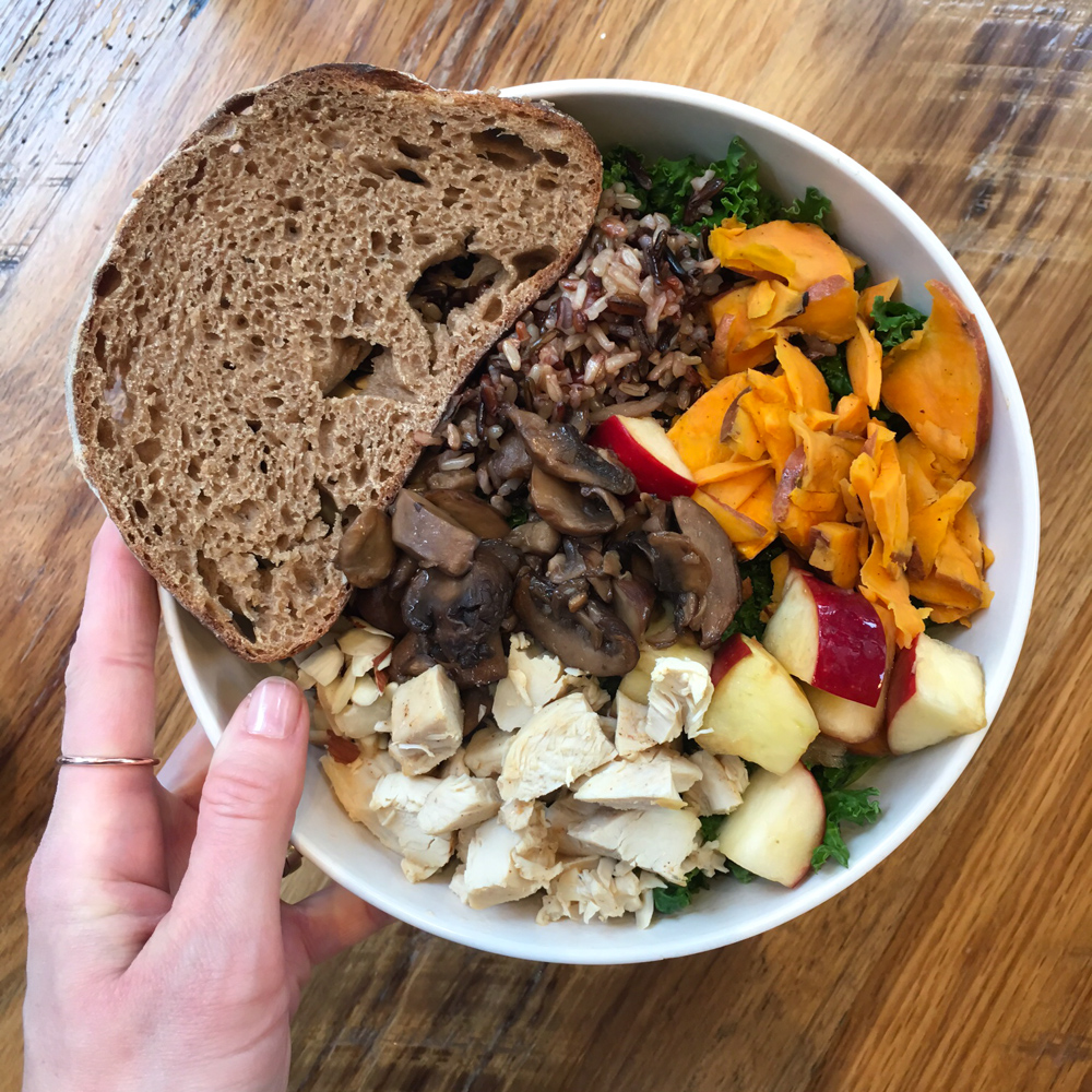 Harvest bowl from Sweetgreen in Chicago by A Lady Goes West