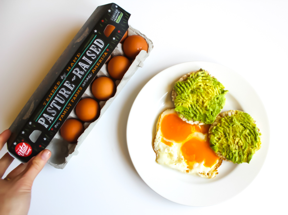 Vital Farms eggs by A Lady Goes West