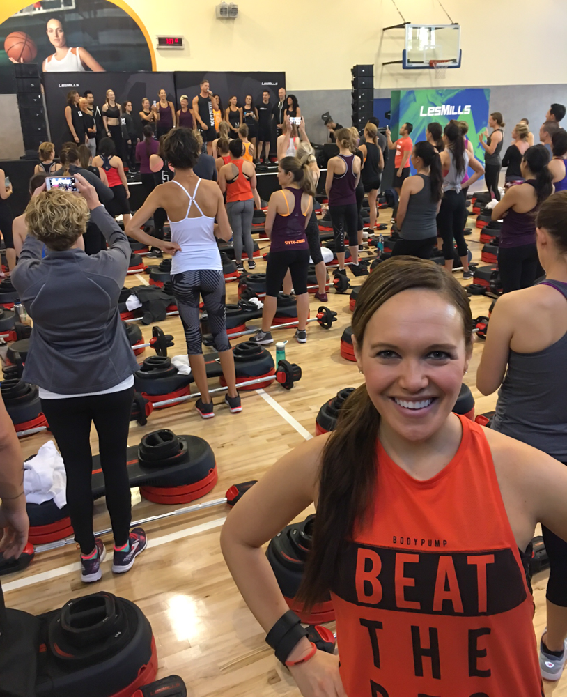 Ashley at the Les Mills Super Q in SJ by A Lady Goes West