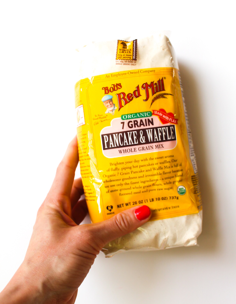 Bob's Red Mill pancake and waffle mix by A Lady Goes West
