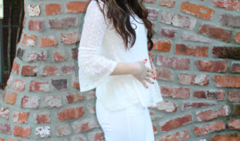 First trimester of pregnancy recap by A Lady Goes West