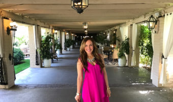 Ashley at the Rancho Bernardo Inn in SD by A Lady Goes West
