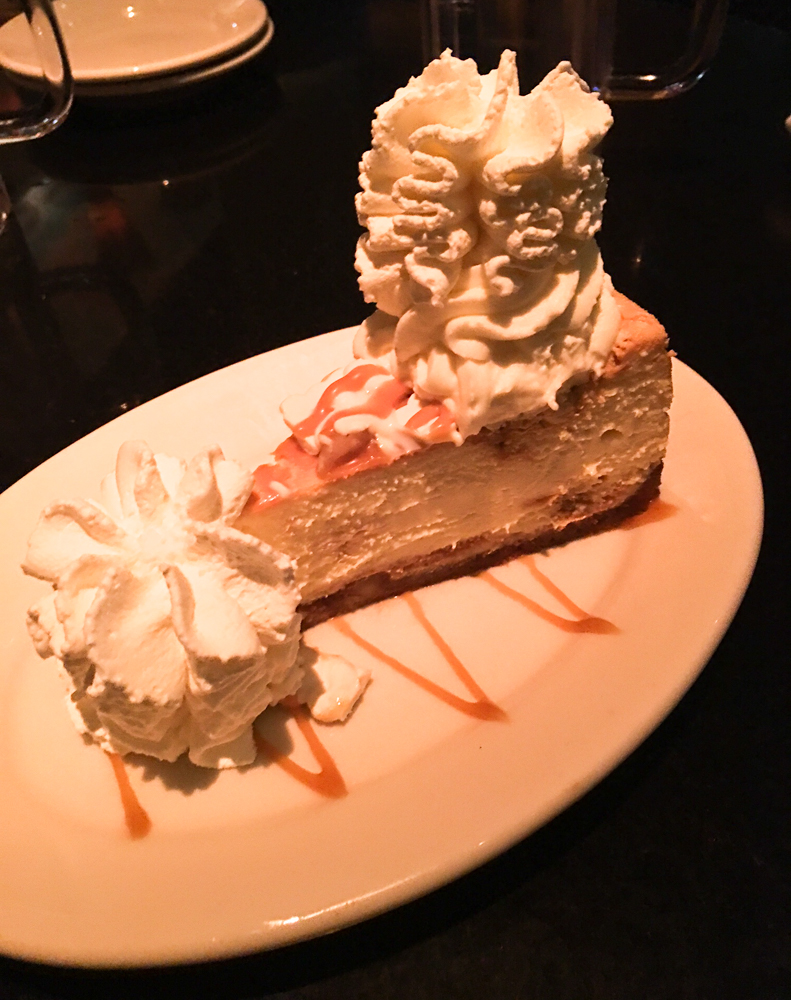 Cheescake Factory dessert by A Lady Goes West
