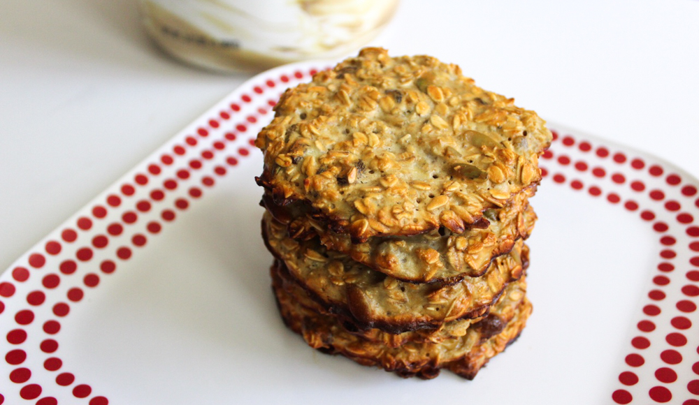 Healthy protein breakfast cookies recipe by A Lady Goes West