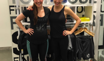 Ashley and Jill after SoulCycle by A Lady Goes West