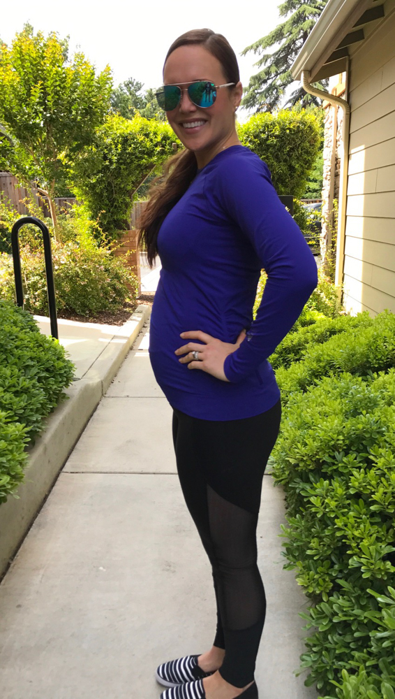 Ashley at 20 weeks pregnant by A Lady Goes West during my second trimester of pregnancy