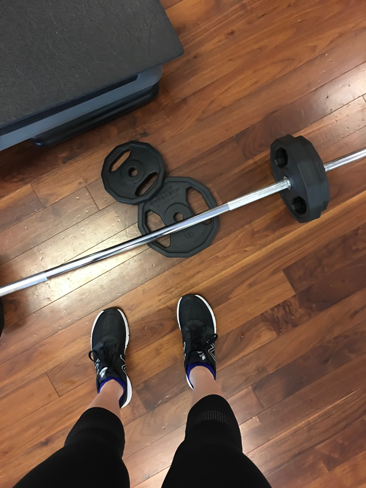 Weighlifting by A Lady Goes West