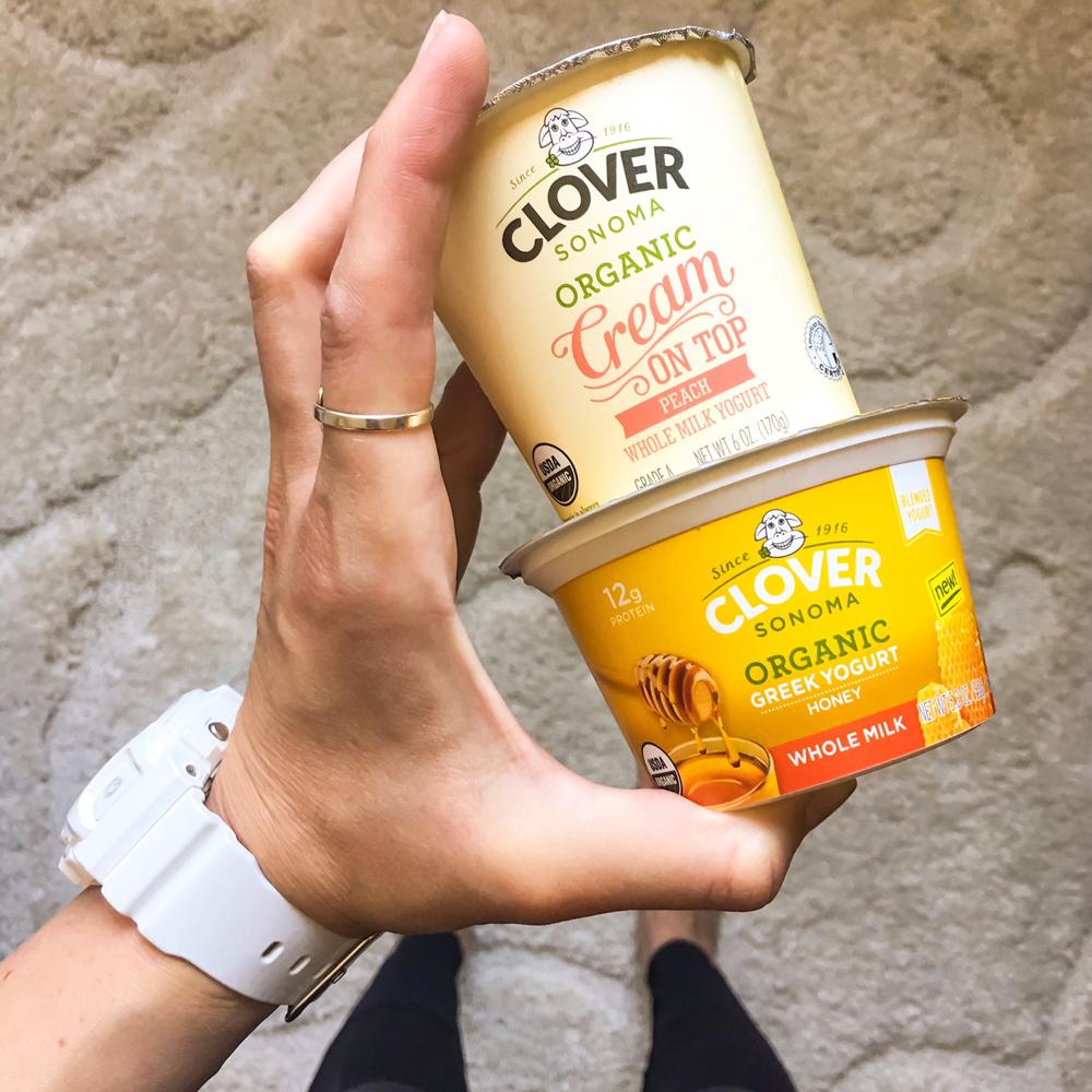 Clover yogurt by A Lady Goes West