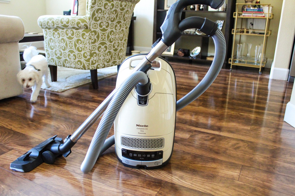 Miele Complete C3 canister vacuum by A Lady Goes West