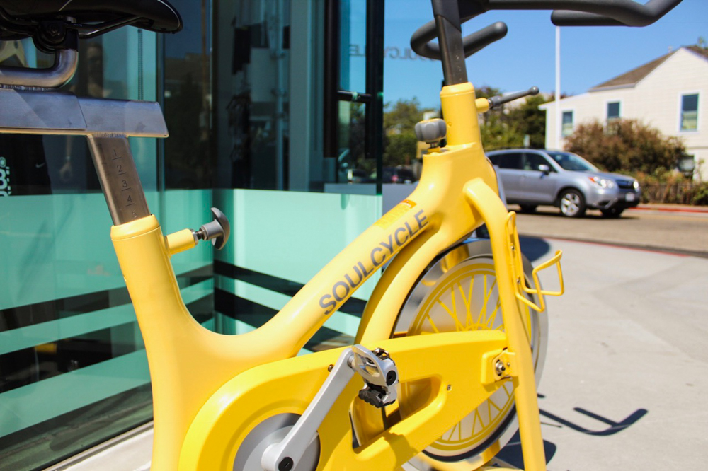 SoulCycle Berkeley studio by A Lady Goes West