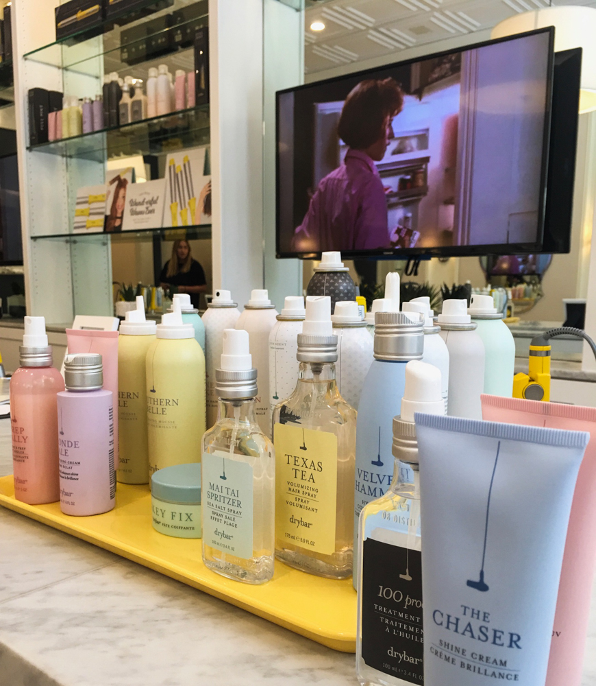 Drybar Walnut Creek products by A Lady Goes West