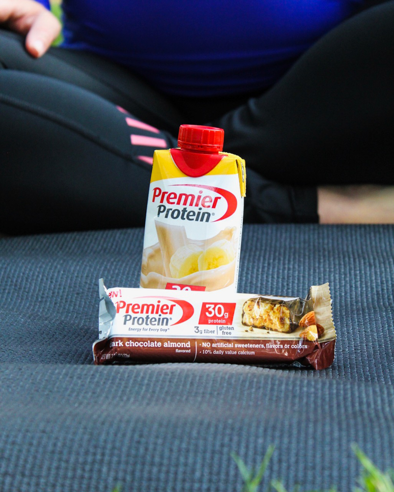 Premier Protein as healthy snacks by A Lady Goes West