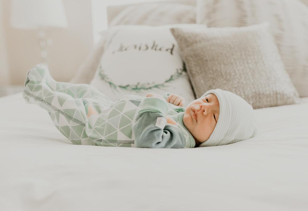 Baby Brady newborn shoot 2 A Lady Goes West