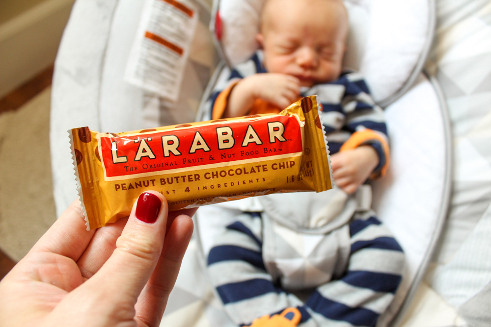 Larabar snack for What I Ate Wednesday by A Lady Goes West