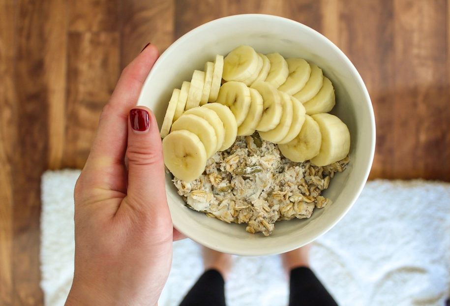 Overnight oats for What I Ate Wednesday by A Lady Goes West
