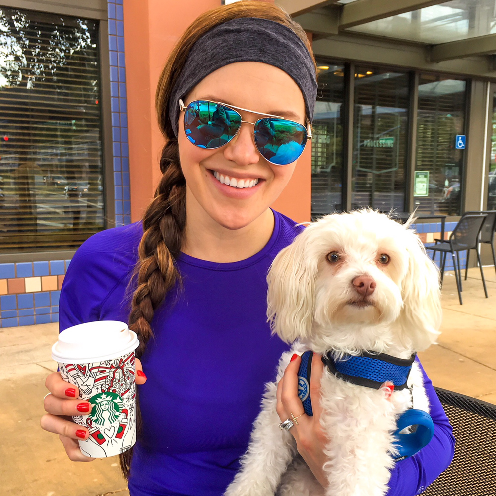 Ashley and Rudy at Starbucks by A Lady Goes West