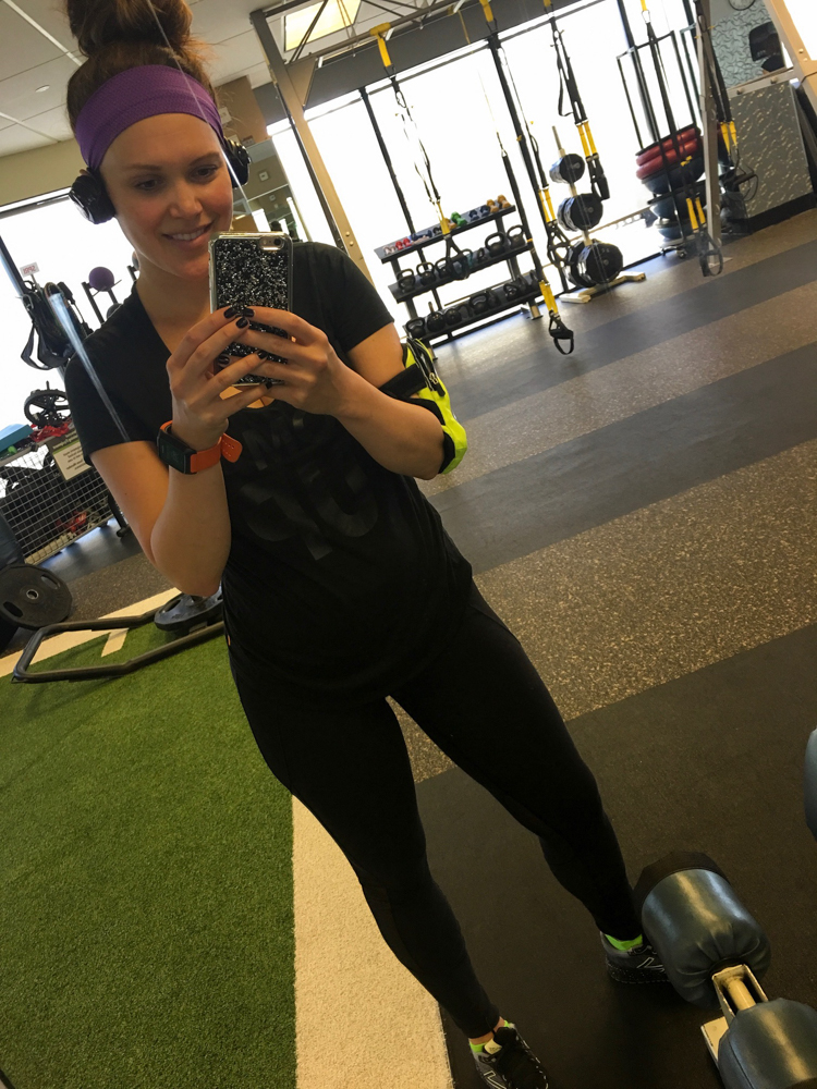 Ashley at the gym by A Lady Goes West