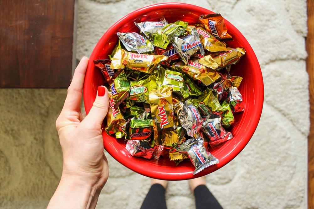 Halloween candy by A Lady Goes West