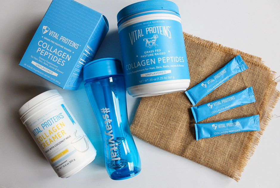 Vital Proteins collagen giveaway by A Lady Goes West