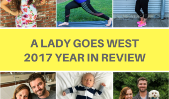 A Lady Goes West 2017 year in review in both blogging and life