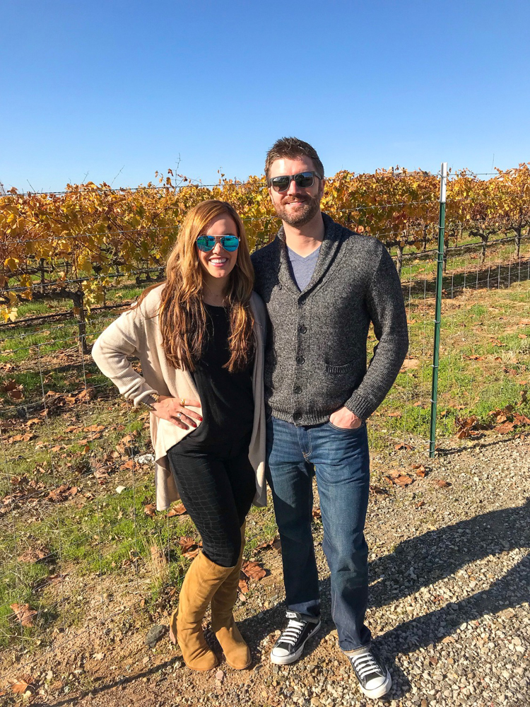 Ashley and Dave at Las Positas in Livermore Valley by A Lady Goes West
