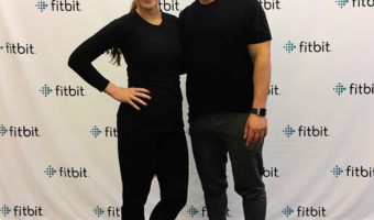 Ashley and Harley Pasternak at Fitbit by A Lady Goes West