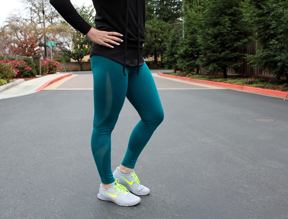Fabletics leggings - postpartum fitness journey by A Lady Goes West