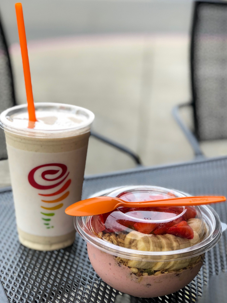 Jamba Juice visit by A Lady Goes West