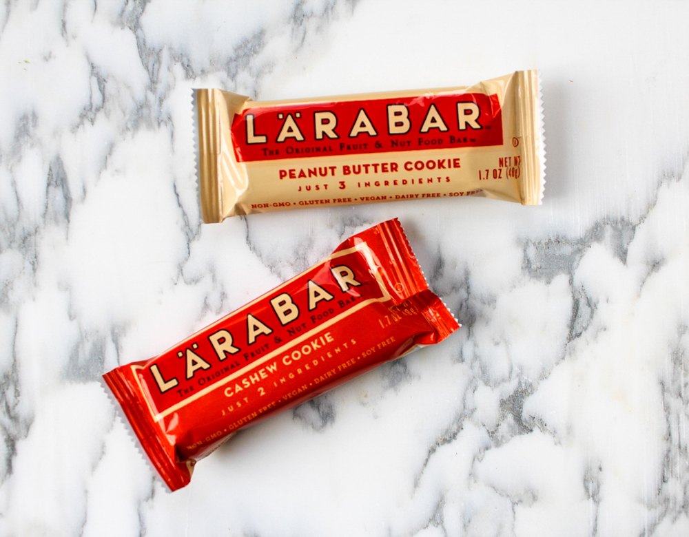 Larabars store-bought healthy snack by A Lady Goes West