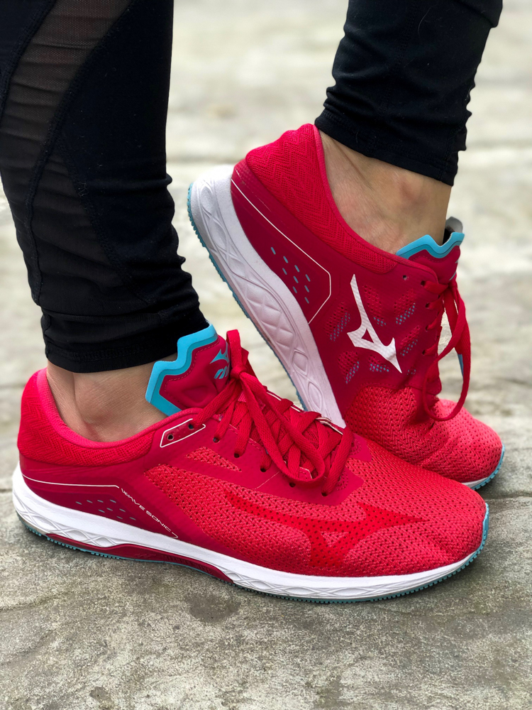 Mizuno Sonic Wave shoes by A Lady Goes West