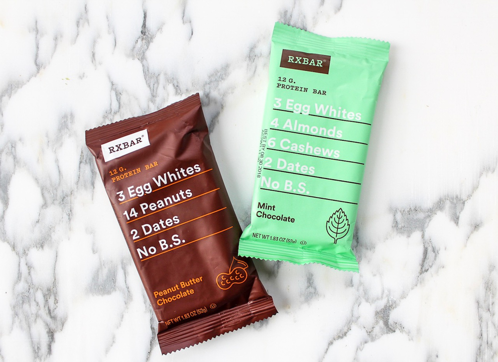 Rxbars store-bought healthy snack by A Lady Goes West