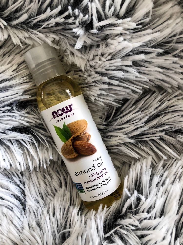 Almond oil - Five nontoxic body product swaps I've made by A Lady Goes West