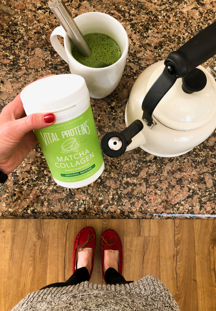 How to make a matcha latte March 2018 by A Lady Goes West