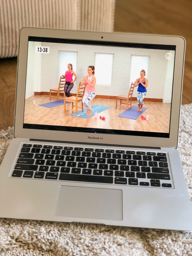 POPSUGAR workouts at home by A Lady Goes West