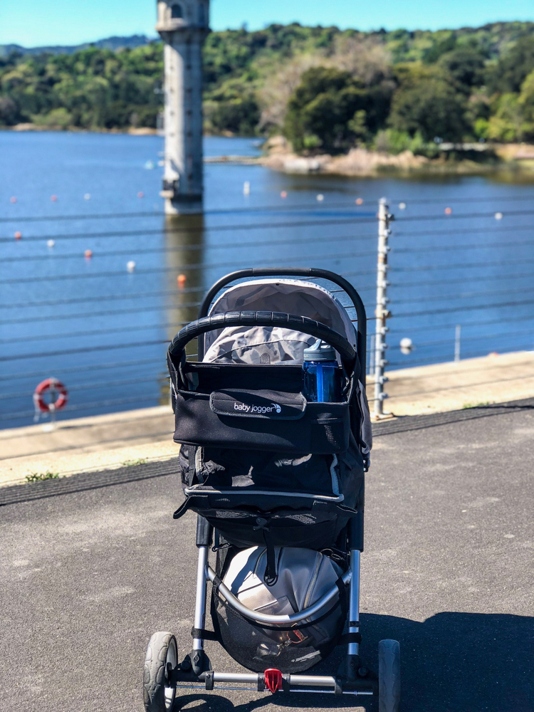 Stroller at Lafayette Reservoir March 2018 3 by A Lady Goes West