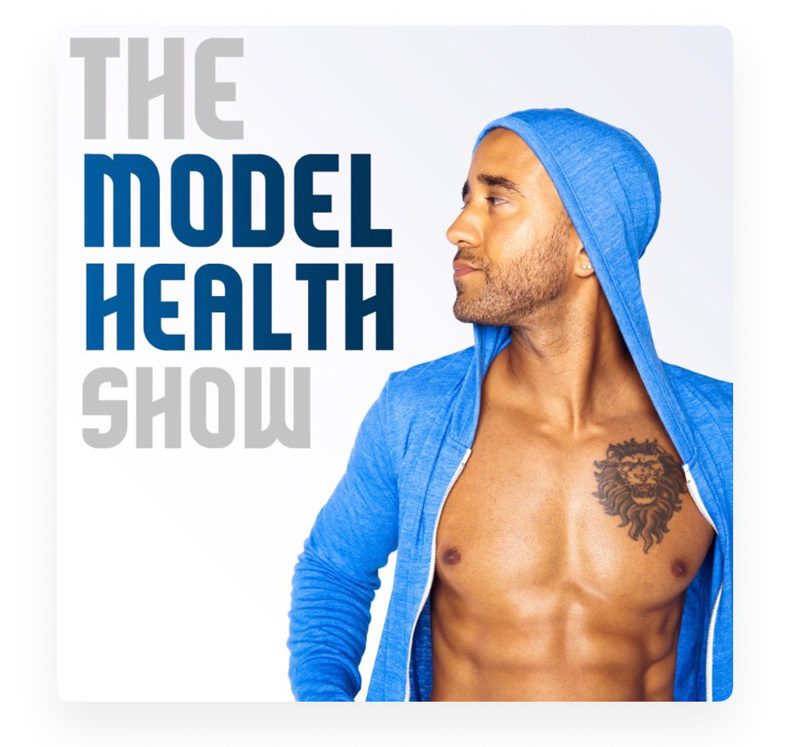 The Model Health Show podcast - part of top health, wellness and fitness podcast list by A Lady Goes West