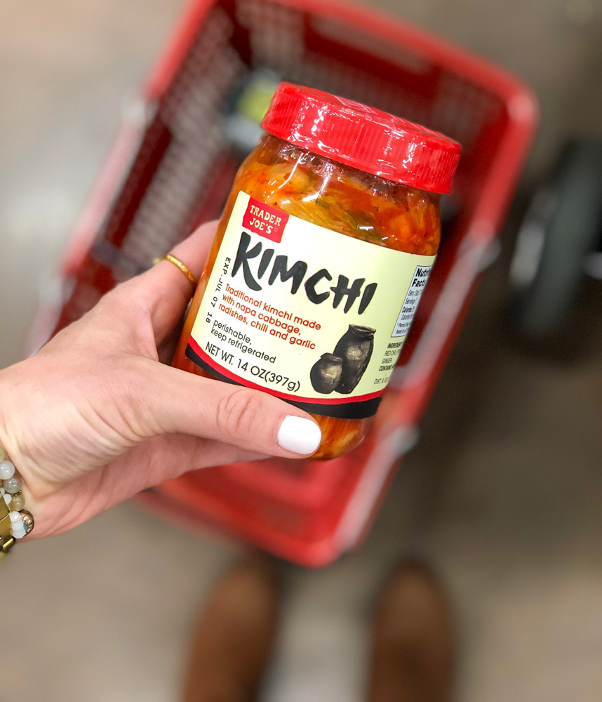 Trader Joe's Kimchi March 2018 by A Lady Goes West