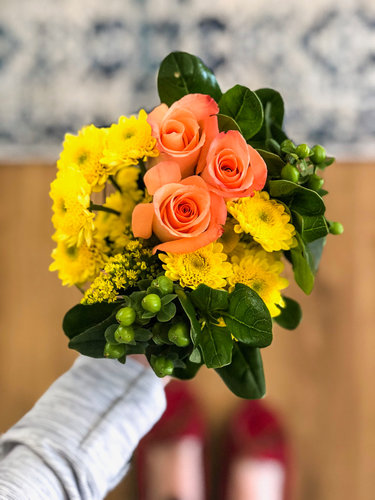 Easter flowers April 2018 by A Lady Goes West
