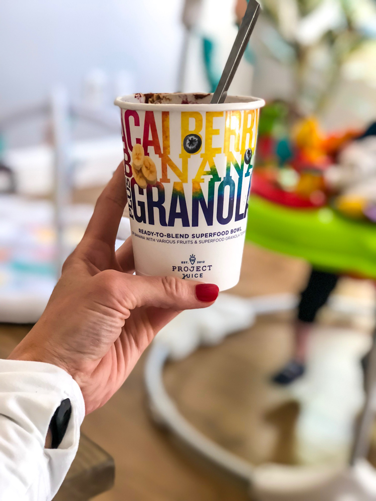 Project Juice Sub-Zero Superfood granola by A Lady Goes West