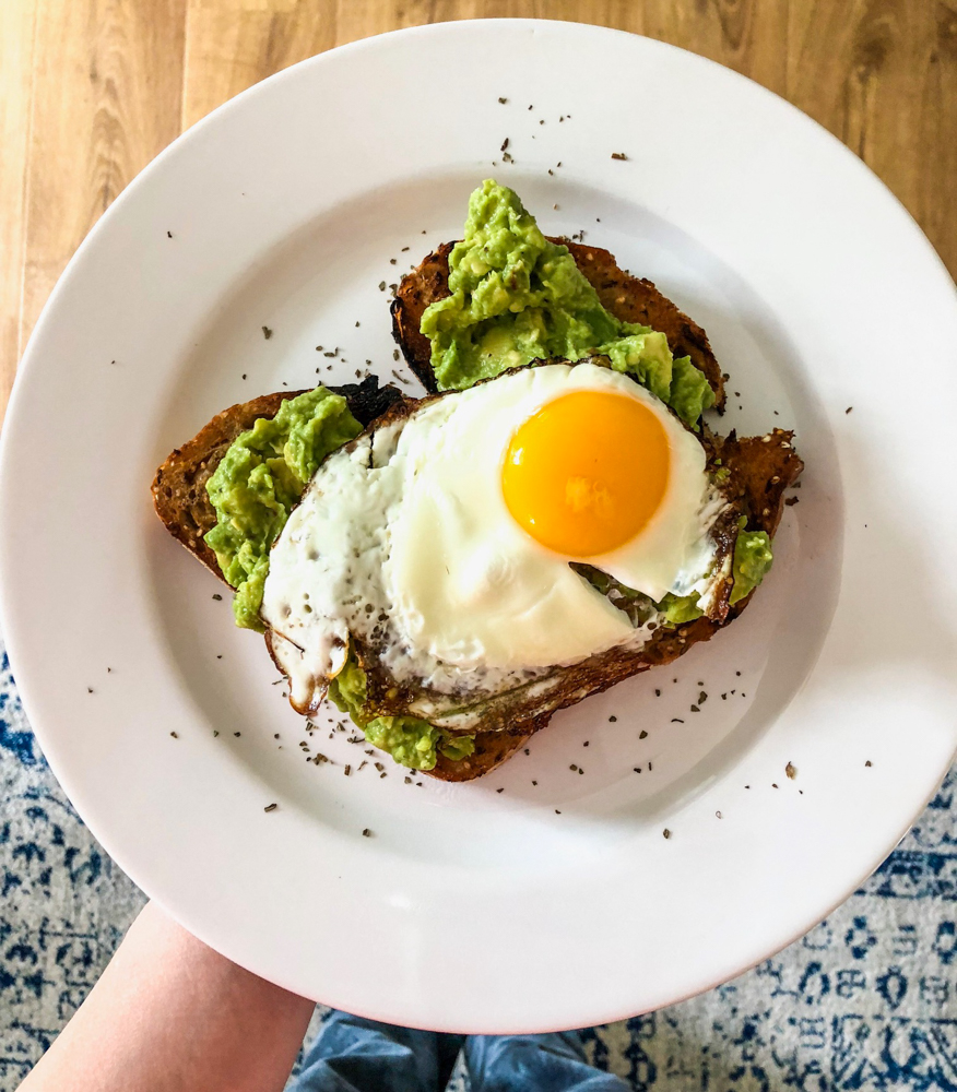 Avocado toast made by Dave by A Lady Goes West