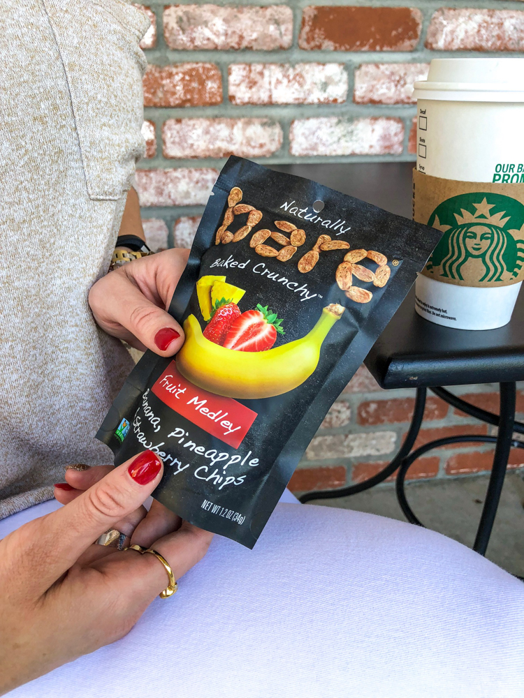 Bare Snacks at Starbucks by A Lady Goes West