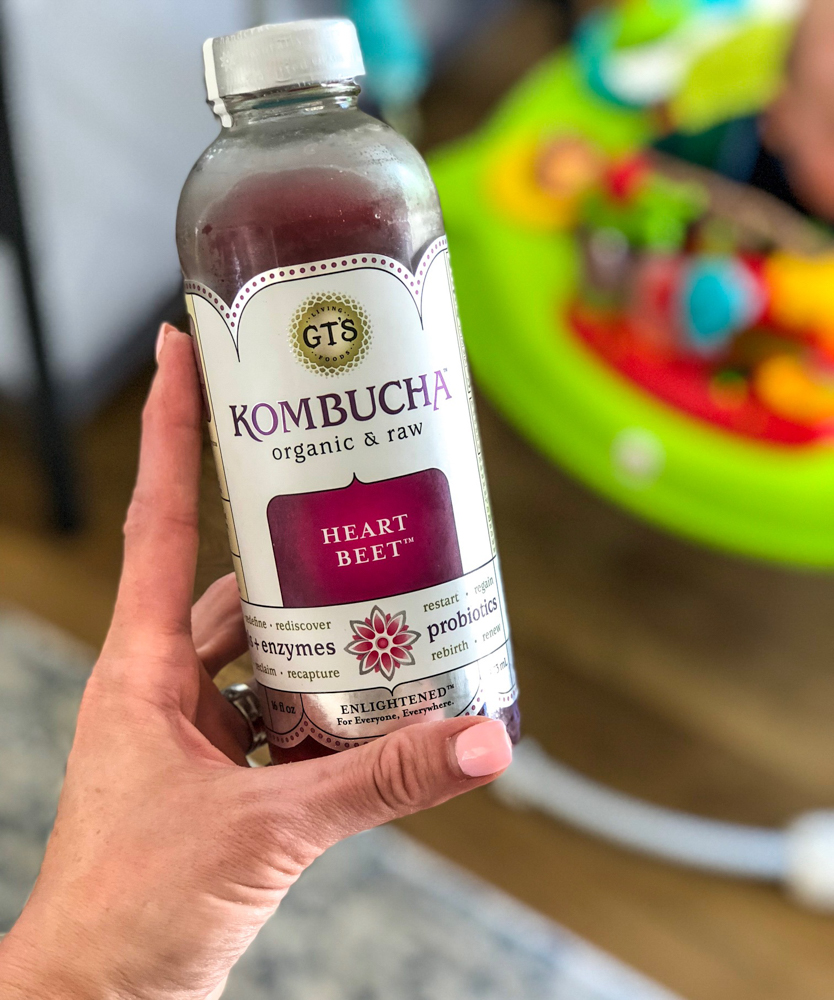 GTs beet kombucha by A Lady Goes West