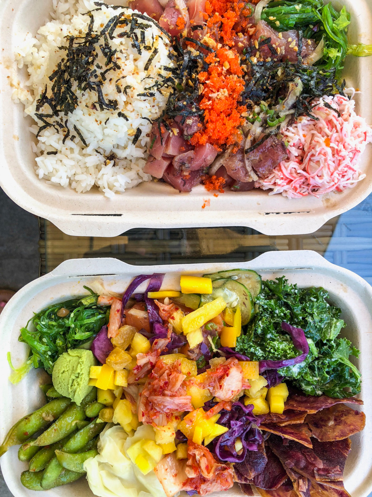 Poke bowl by A Lady Goes West