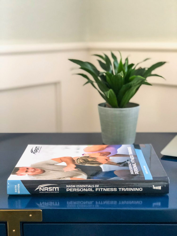 A review of the NASM CPT Guided Study Program and NASM CPT exam by A Lady Goes West