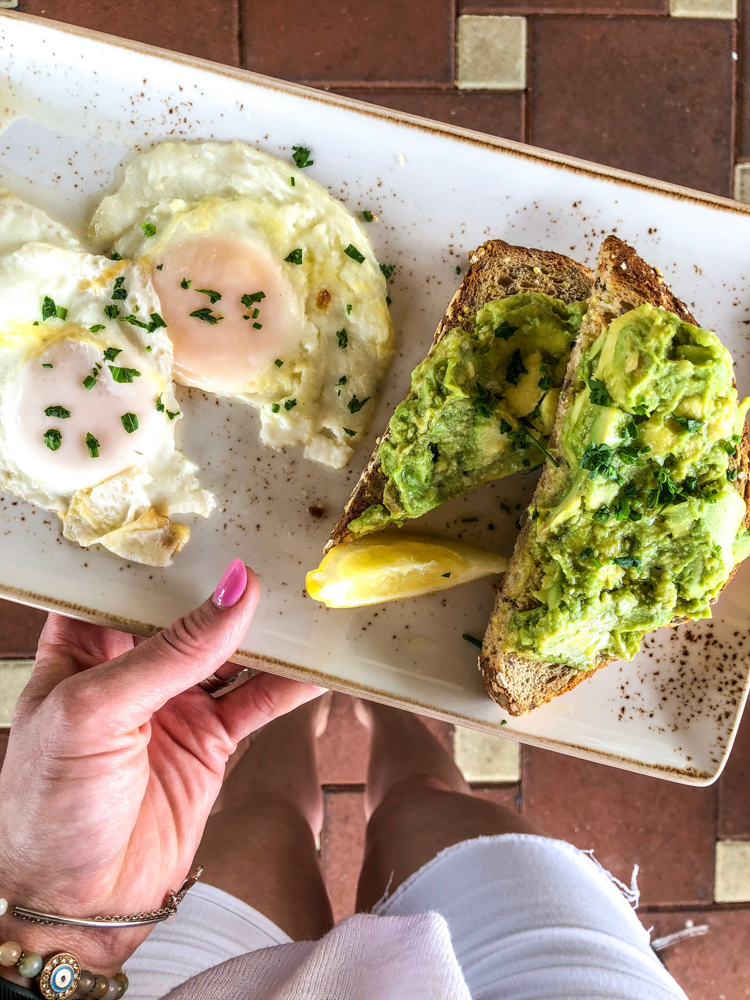 Avocado toast from First Watch in Florida by A Lady Goes West