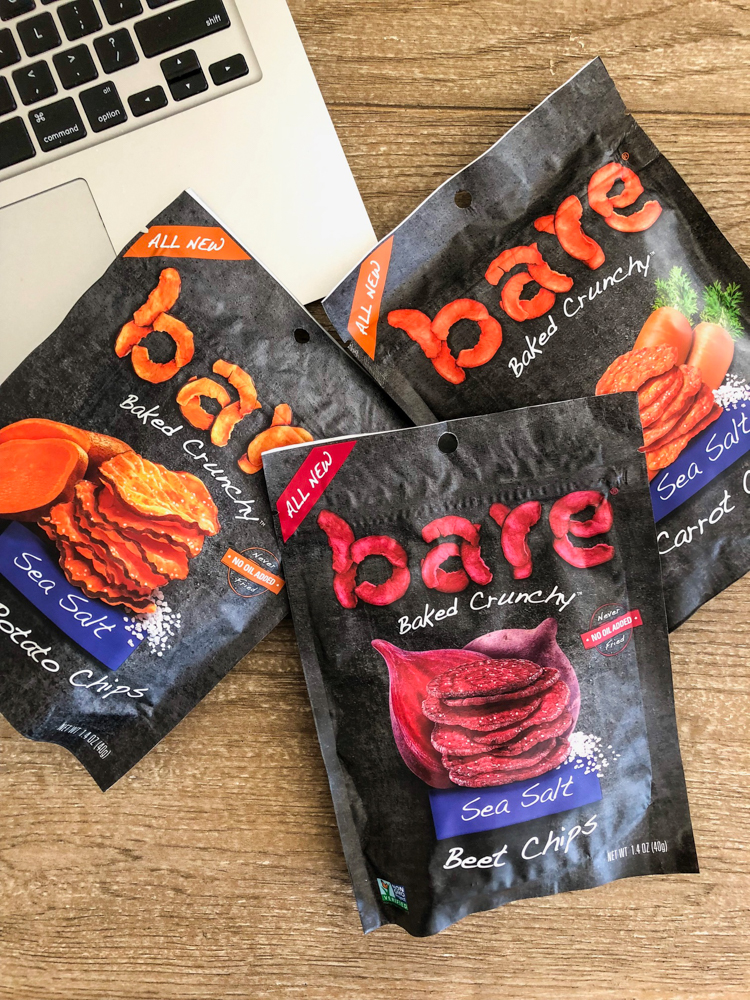 Bare Snacks veggie chips by A Lady Goes West
