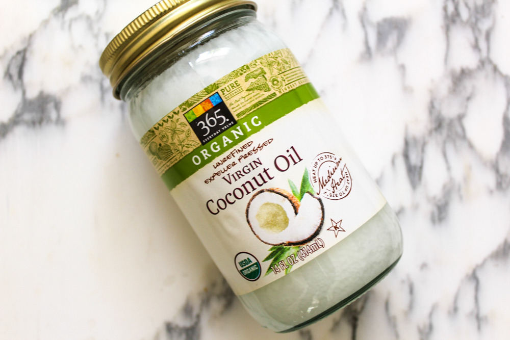 Coconut oil easy and healthy grocery swaps by A Lady Goes West