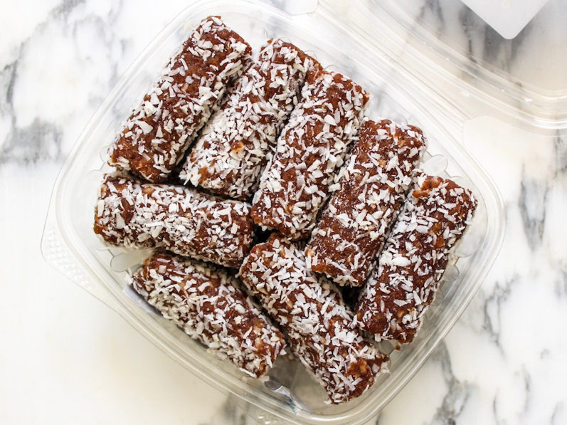 Dates easy and healthy grocery swaps by A Lady Goes West