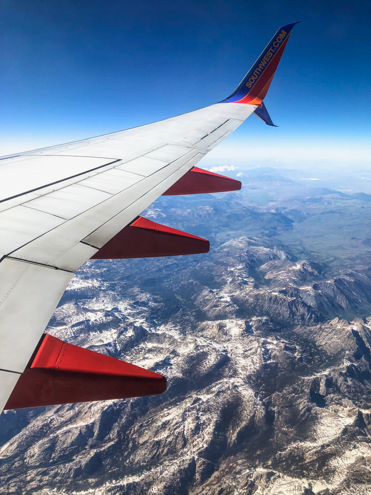 Flying back to CA on Southwest by A Lady Goes West