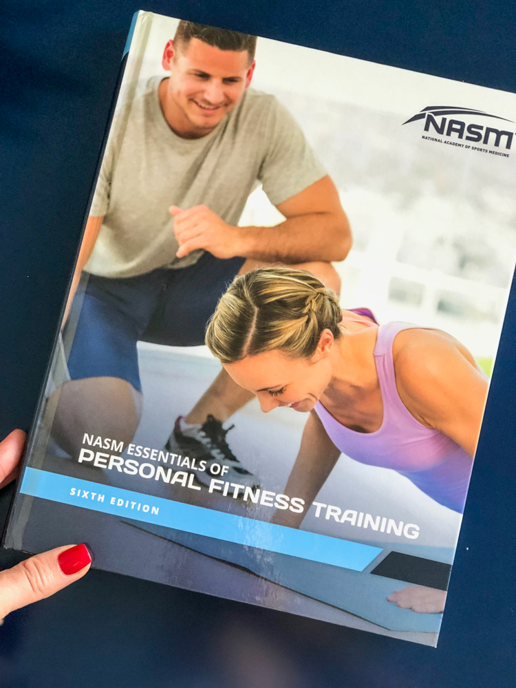 My experience with the NASM CPT Guided Study Program and NASM CPT exam by A Lady Goes West
